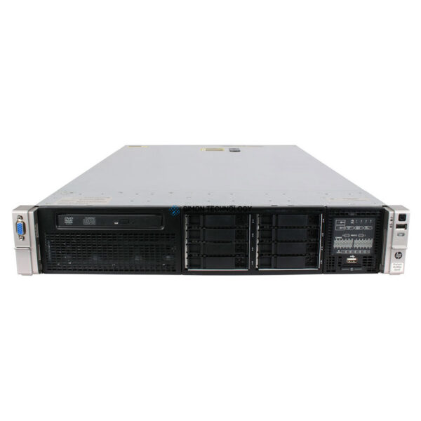 Сервер HP DL380P G8 E5-2690 2P 32GB-R P420I SATA SFF 750W PS HIGH P (662257-421)
