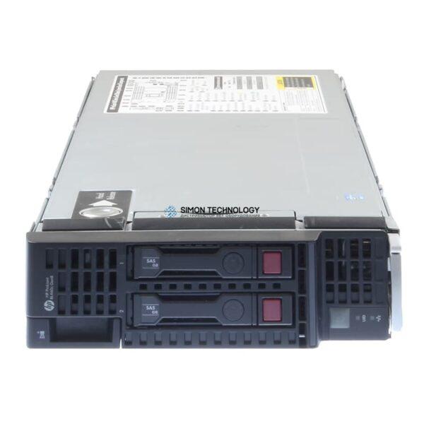 Сервер HP BL460C G8 E5-2670V2 2P 64GB-R P220I/512 FBWC SVR (724082-B21)