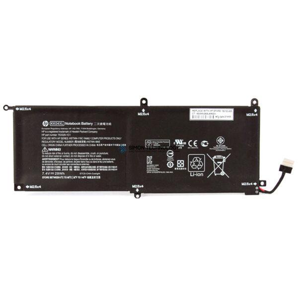 Батарея HP Battery pack (Primary) Lithium-Ion 1980mAh 7.4V Wiederaufladbare Batterie (753703-005)