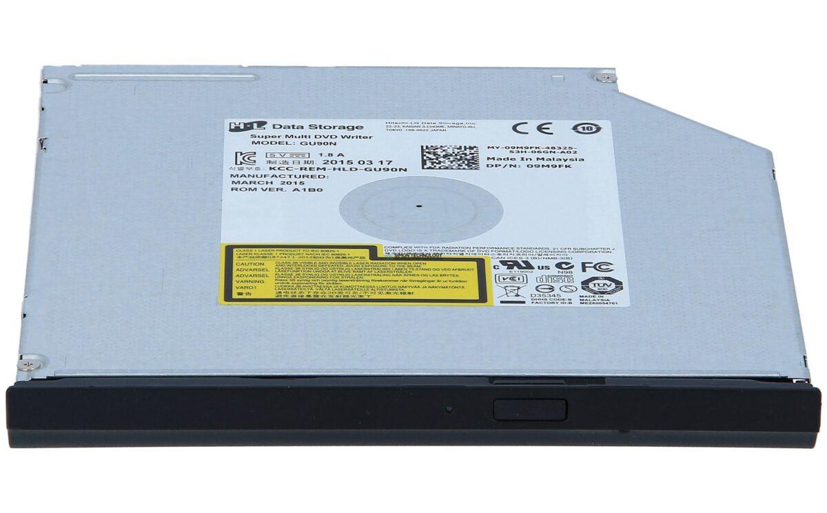Оптический привод Dell DVD+/-RW 8X 9.5T GU90N HLDS - DVD-Brenner (9M9FK)