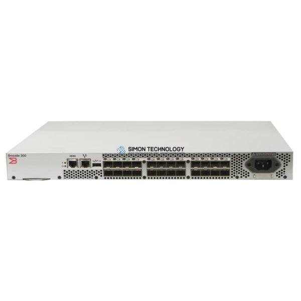 Коммутатор Brocade 300 (8 Active) 8Gbps Fibre Channel SAN Switch 0P716G P71 (BR-300-8)