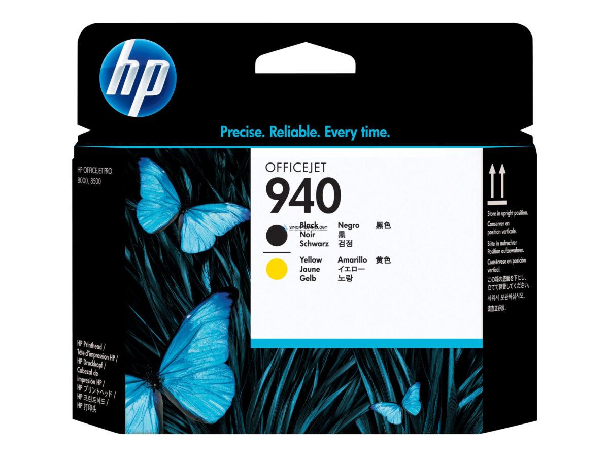 Картридж HP 940 - Tintenpatrone Original - Schwarz, Yellow - 13 ml (C4900A)