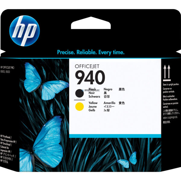 Картридж HP 940 - Tintenpatrone Original - Schwarz, Yellow - 13 ml (C4900A)