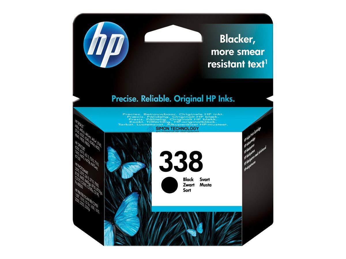 Картридж HP 338 ink cartridge black 11ml 450 pages - Original - Tintenpatrone (C8765EE#ABE)