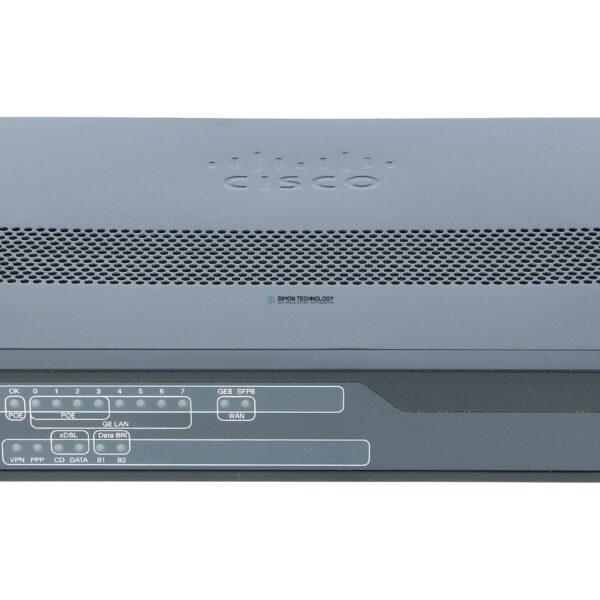 Маршрутизатор Cisco 896 VDSL2/ADSL2+ over ISDN and 1GE/SFP Sec Router (C896VA-K9)