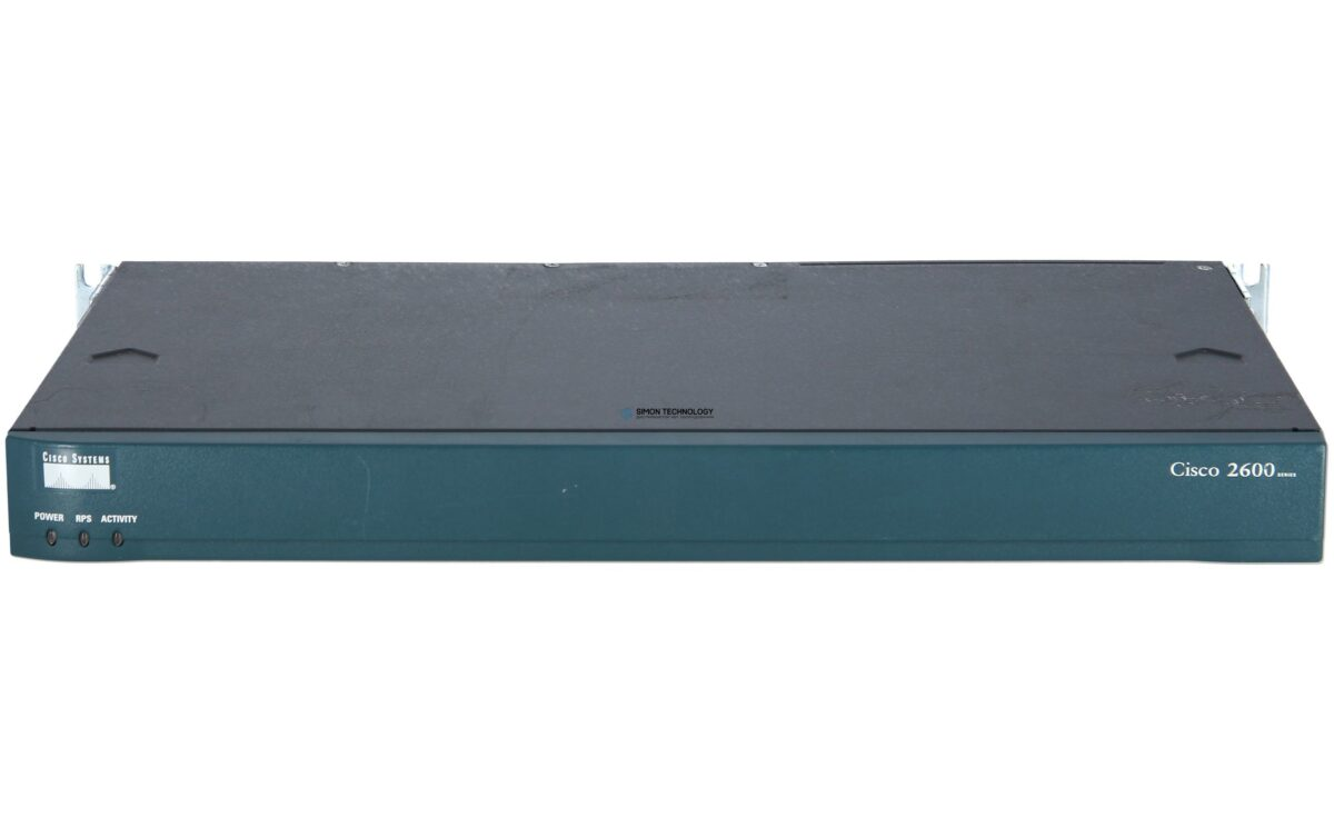 Маршрутизатор Cisco Dual 10/100 Ethernet Router with 2 WIC Slots, 1 NM Slot (CISCO2621)