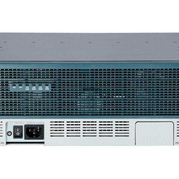 Маршрутизатор Cisco 3845 Voice Bundle w/ PVDM2-64,FL-CCME-250,SP Serv,128F/512D (CISCO3845-CCME/K9)