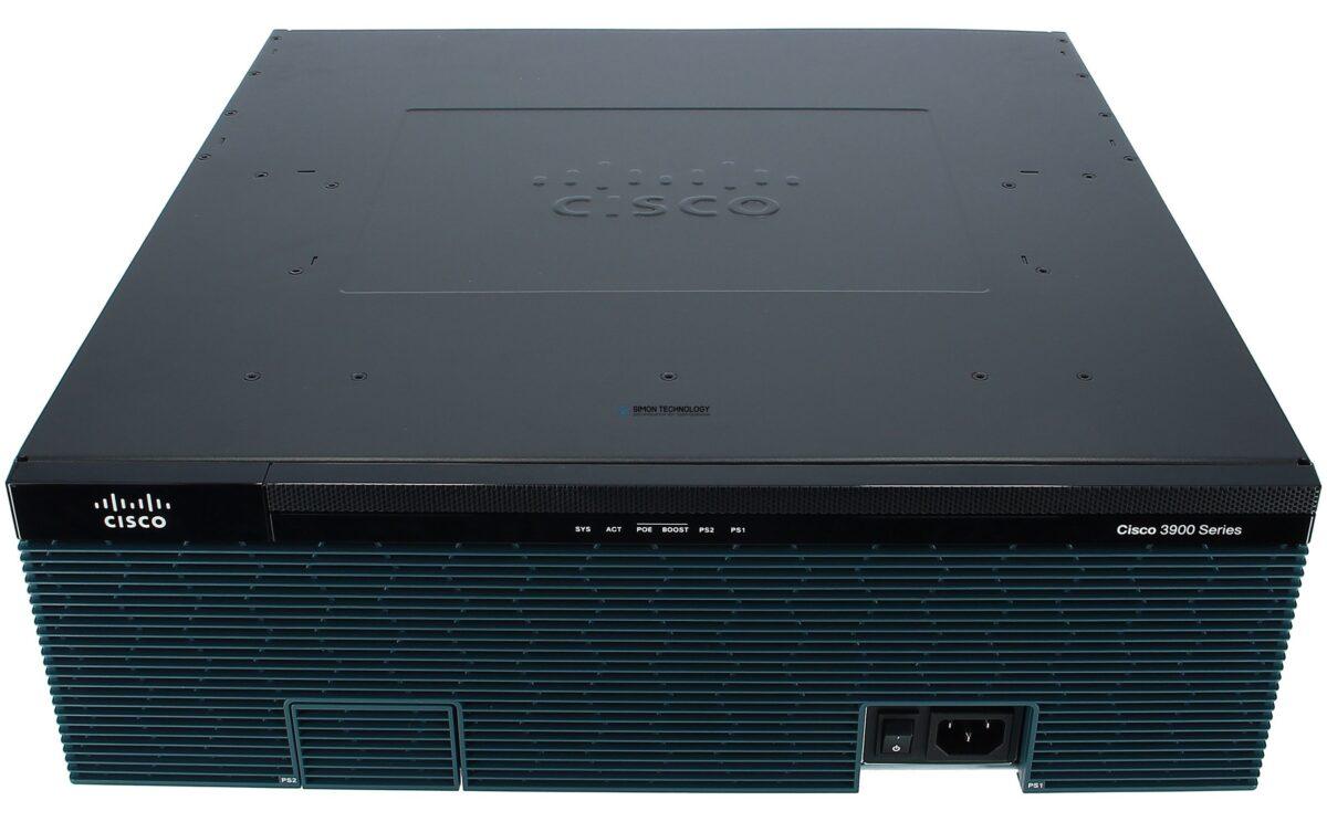 Маршрутизатор Cisco 3925E Security Bundle w/SEC license PAK (CISCO3925E-SEC/K9)