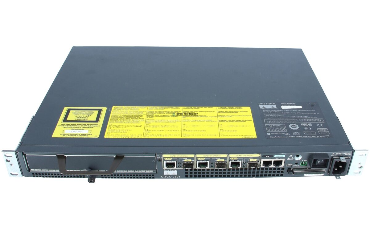 Маршрутизатор Cisco 7301 chassis, 256MB memory, A/C power,64MB Flash (CISCO7301)