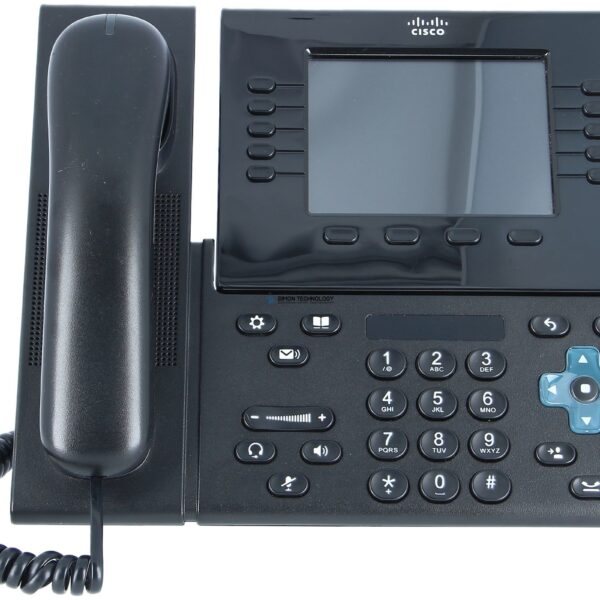 Cisco Unified IP Endpoint 8961, Charcoal, Thick handset (CP-8961-C-K9=)