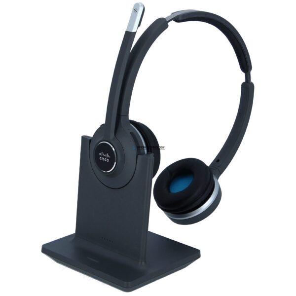 Cisco 562 Wireless Dual - Headset - On-Ear - DECT 6.0 (CP-HS-WL-562-N-EU=)
