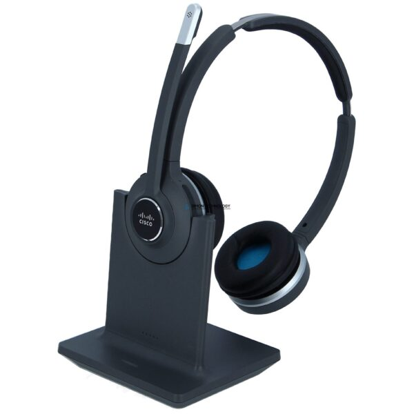 Cisco 562 Wireless Dual - DECT Headset with Stand (CP-HS-WL-562-S-EU=)
