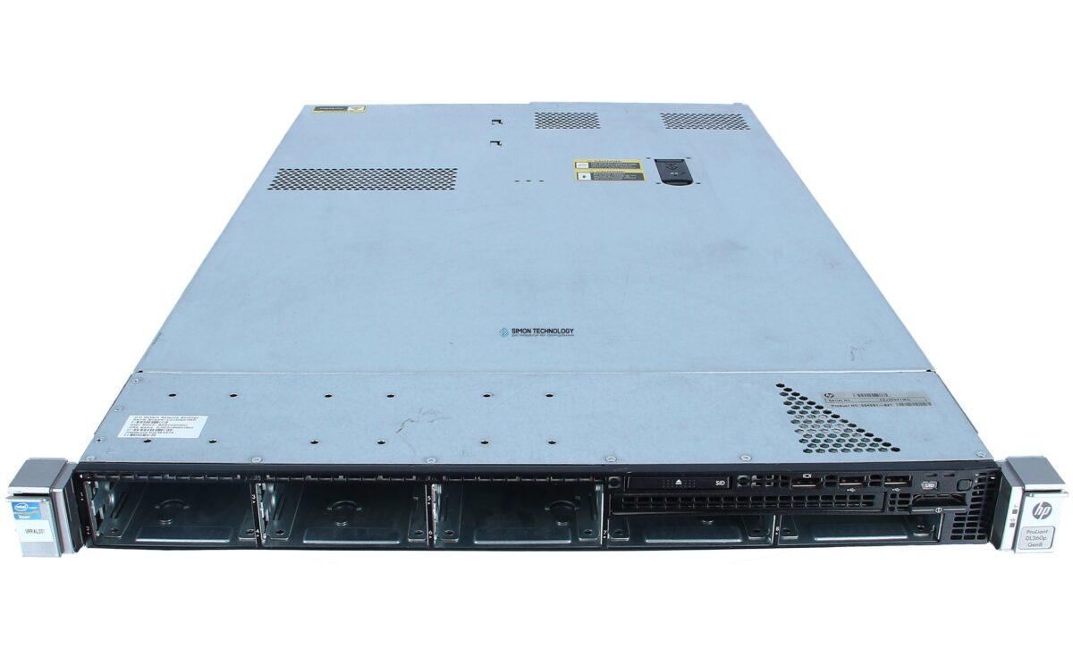 Сервер HP DL360 Gen8 SSF Server,1xE5-2609,16GB (1x16GB) DDR3 RAM,no HDD,2xPSU (DL360Gen8_config2)