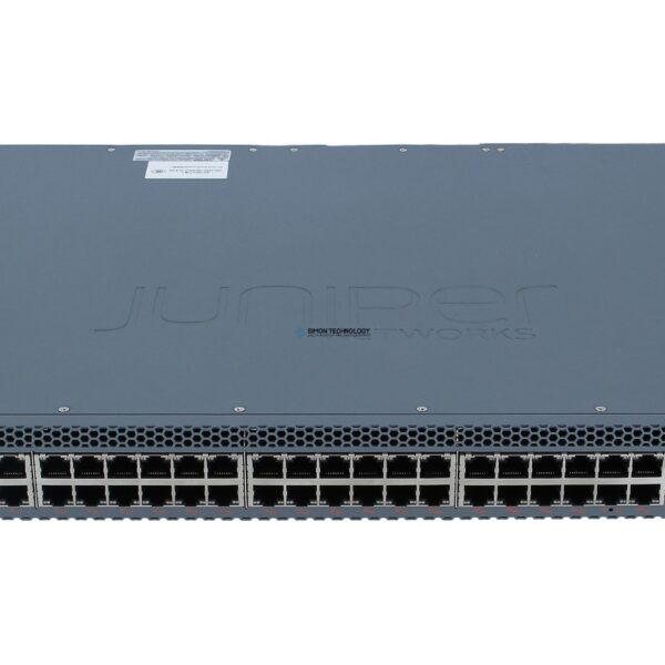 Коммутатор Juniper EX3400 48-port 10/100/1000BaseT PoE+, 4 (EX3400-48P)