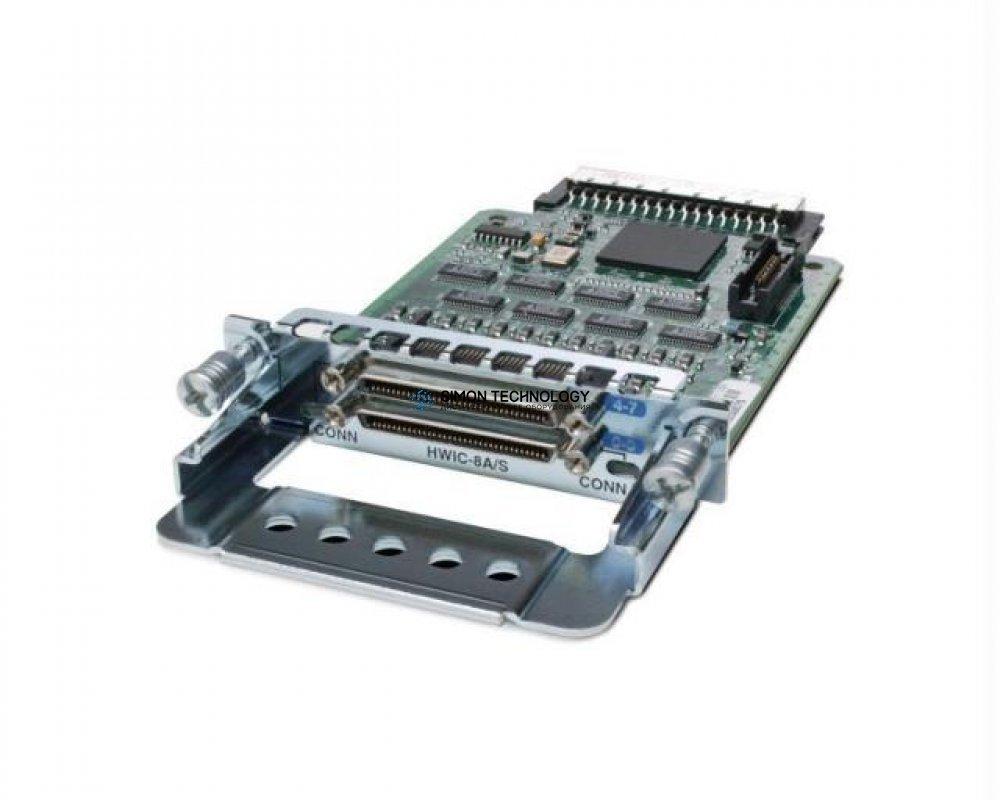 Модуль Cisco 8-Port Async/Sync Serial HWIC, EIA-232 (HWIC-8A/S-232)