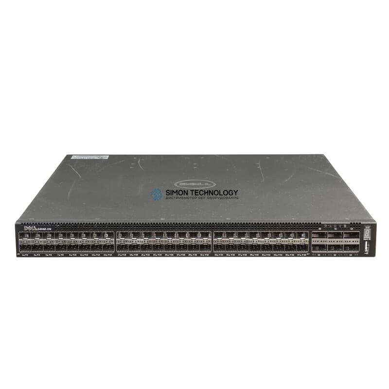 Коммутатор Dell Switch Networking 48x SFP+ 10GbE 6x QSFP+ 40GbE - (J09D3)