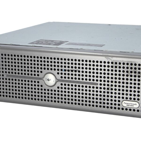 СХД Dell POWERVAULT MD1000 STORAGE ENCLOSURE 2*PSU 1*CONTROLLER (MD1000 1XCTRL)