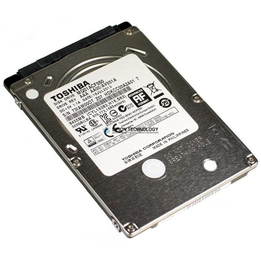 Жесткий диск Toshiba 500GB 7.2K 6G 2.5 SATA HDD REF (MQ01ACF050)