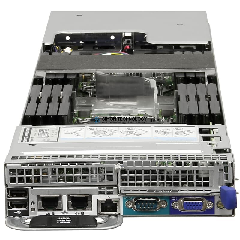 "Сервер Dell Blade Server CTO Chassis v1.1 2x 2,5"" SATA - (PowerEdge C8220)"