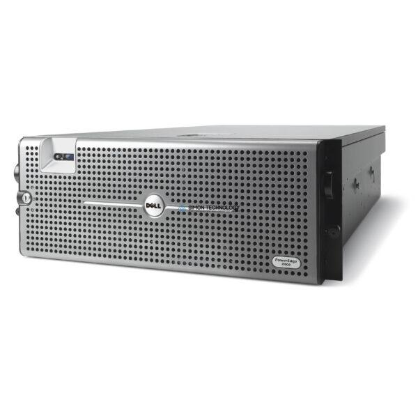Сервер Dell PER900 E7340 4P 32GB PERC 6/I DUAL PSU 5 LFF DVD (R900-E7340)