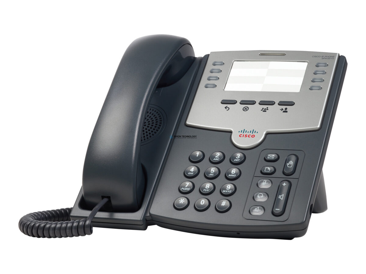 Cisco 8 Line IP Phone With PoE and PC Port (SPA501G)
