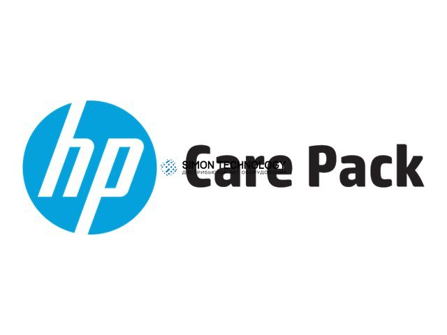 HP Electronic Care Pack Next Business Day Hardware Support with Defe (U8TH9E)