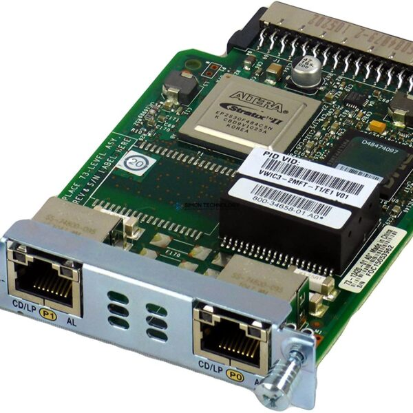 Модуль Cisco 2-Port 3rd Gen Multiflex Trunk Voice/WAN Int. Card - G.703 (VWIC3-2MFT-G703)