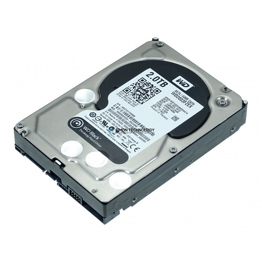 "Жесткий диск WD SATA-Festplatte 2TB 7,2k SATA 6G 3,5"" (WD2003FZEX-00Z4SA0)"
