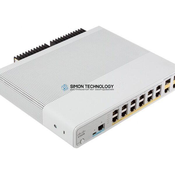 Коммутатор Cisco Catalyst 3560C Switch 12 FE PoE, 2 x Dual Uplink, IP Base (WS-C3560C-12PC-S)