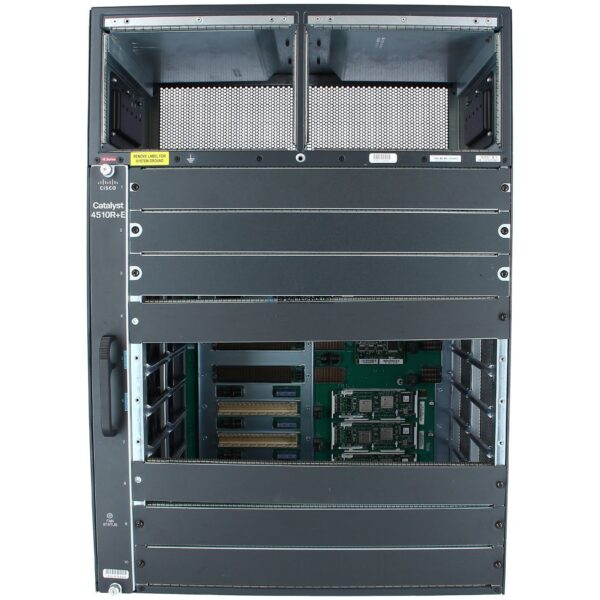 Cisco Catalyst4500E 10 slot chassis for 48Gbps/slot (WS-C4510R+E=)