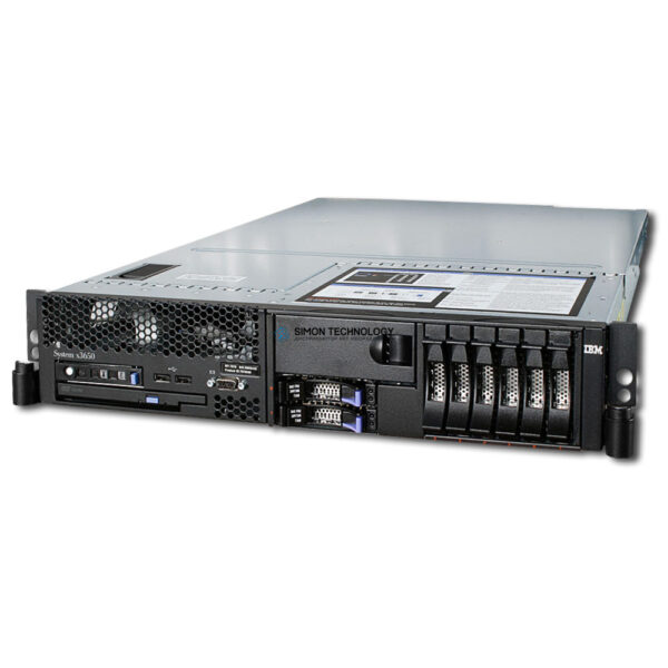 Сервер IBM 2X 2.83 GHZ CPU, 4X GB RAM, FAN, RAID, 2X PSU (X3650)