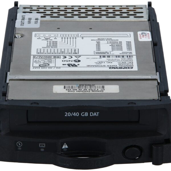 "Стример HPE - Bandlaufwerk - Streamer - 20 GB 3,5"" Plug-In Modul SCSI (215488-B21)"
