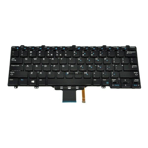 Клавиатура Dell Ersatztastatur Notebook - hinterleuchtet (35JP0)