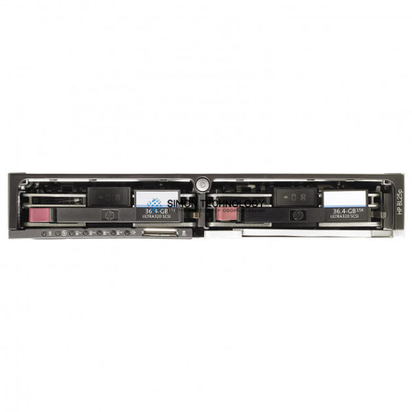 Сервер HPE Enterprise - ProLiant BL25p - Server - Blade - zweiweg - 2 x Opt (374799-B21)