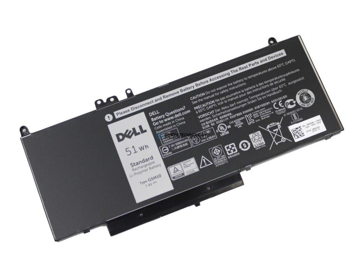 Батарея Dell Primary Battery - Laptop-Batterie - 1 x Lithium-Ionen 4 Zellen (451-BBLN)