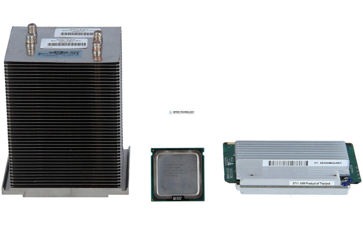 Процессор HPE Quad-Core Intel Xeon Processor X5460 (3.16GHz, 120 Watts, 1333 FSB) Ml 370 G5 (458408-B21)