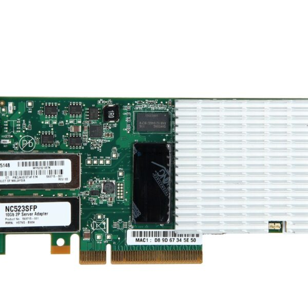 Контроллер HP NC523SFP 10Gb 2-Port Server Adapter - High Profile (593717-B21H)