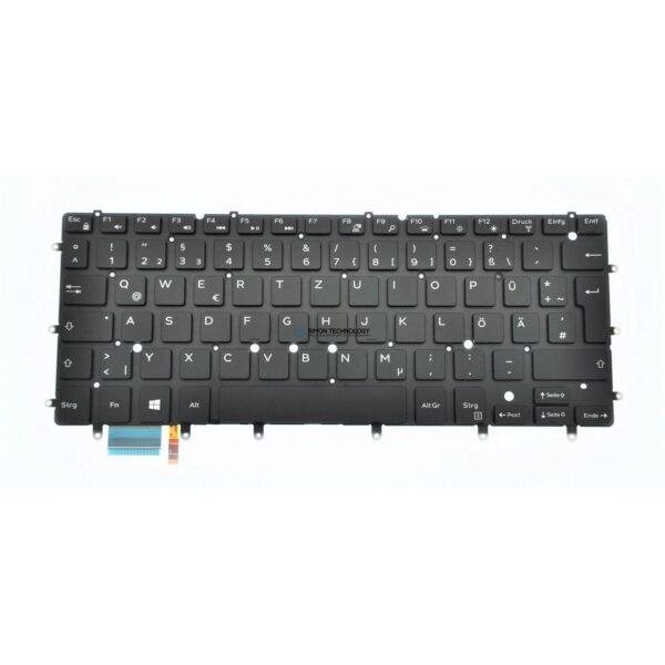 Клавиатура Dell Keyboard GERMAN - Tastatur - Schwarz (5VY7J)