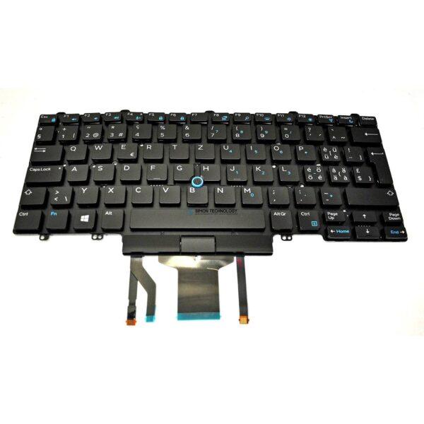 Клавиатура Dell Keyboard Swiss/EUROPEAN (6C1VG)