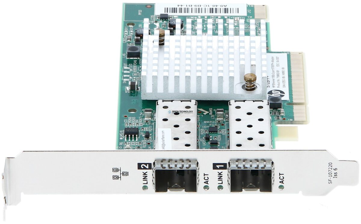 Сетевая карта HP Ethernet 10Gb 2P 570SFP+ Adptr (718904-B21)