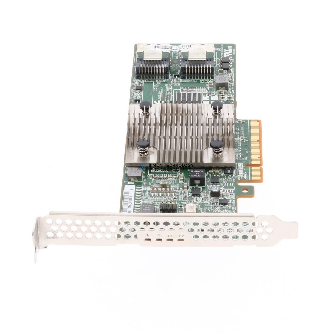 Контроллер HP H240 12Gb 2-ports Int FIO Smart Host Bus Adapter (761873-B21)