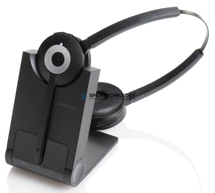Jabra PRO 920 Duo - Headset - On-Ear - konvertierbar - (920-29-508-101)