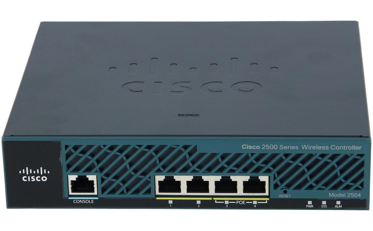 Точка доступа Cisco 2504 Wireless Controller for High Availability (AIR-CT2504-HA-K9)
