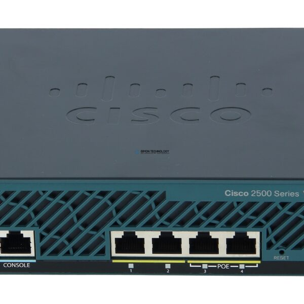 Точка доступа Cisco 2504 Wireless Controller for High Availability (AIR-CT2504-HA-K9)