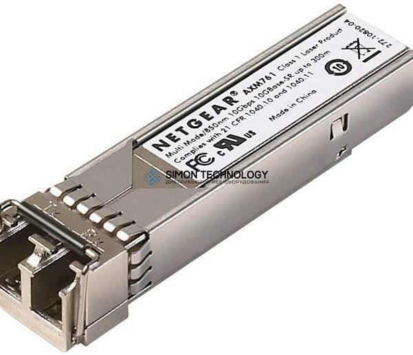 SFP модуль Netgear ProSafe AXM761 - SFP+-Transceiver-Modul - 10 GigE - 10GBase-SR - LC Multi-Mode - bis zu 300 m - 850 nm (Packung mit 10) REF (AXM761P10-10000S)