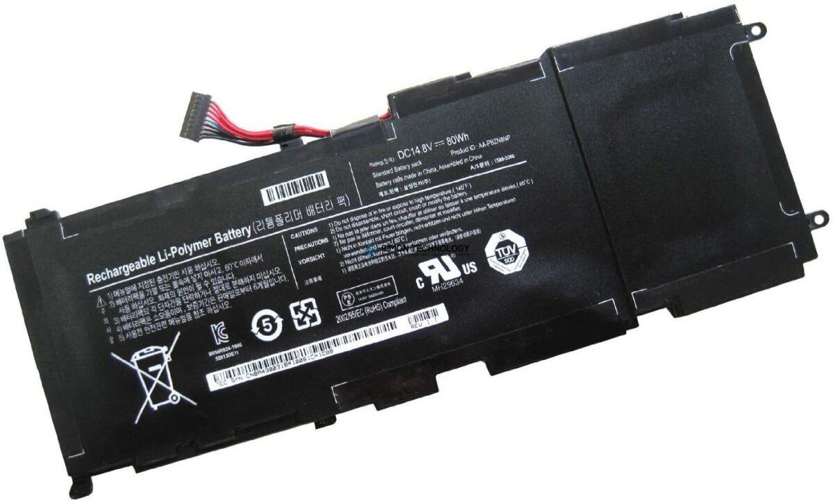 Батарея Samsung Laptop-Batterie Lithium-Polymer 80 Wh (BA43-00318A)