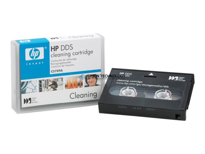 Чистящий картридж HPE - DAT - Cleaning Kit - 320 GB Kassette, 320 GB/640 GB (C5709A)