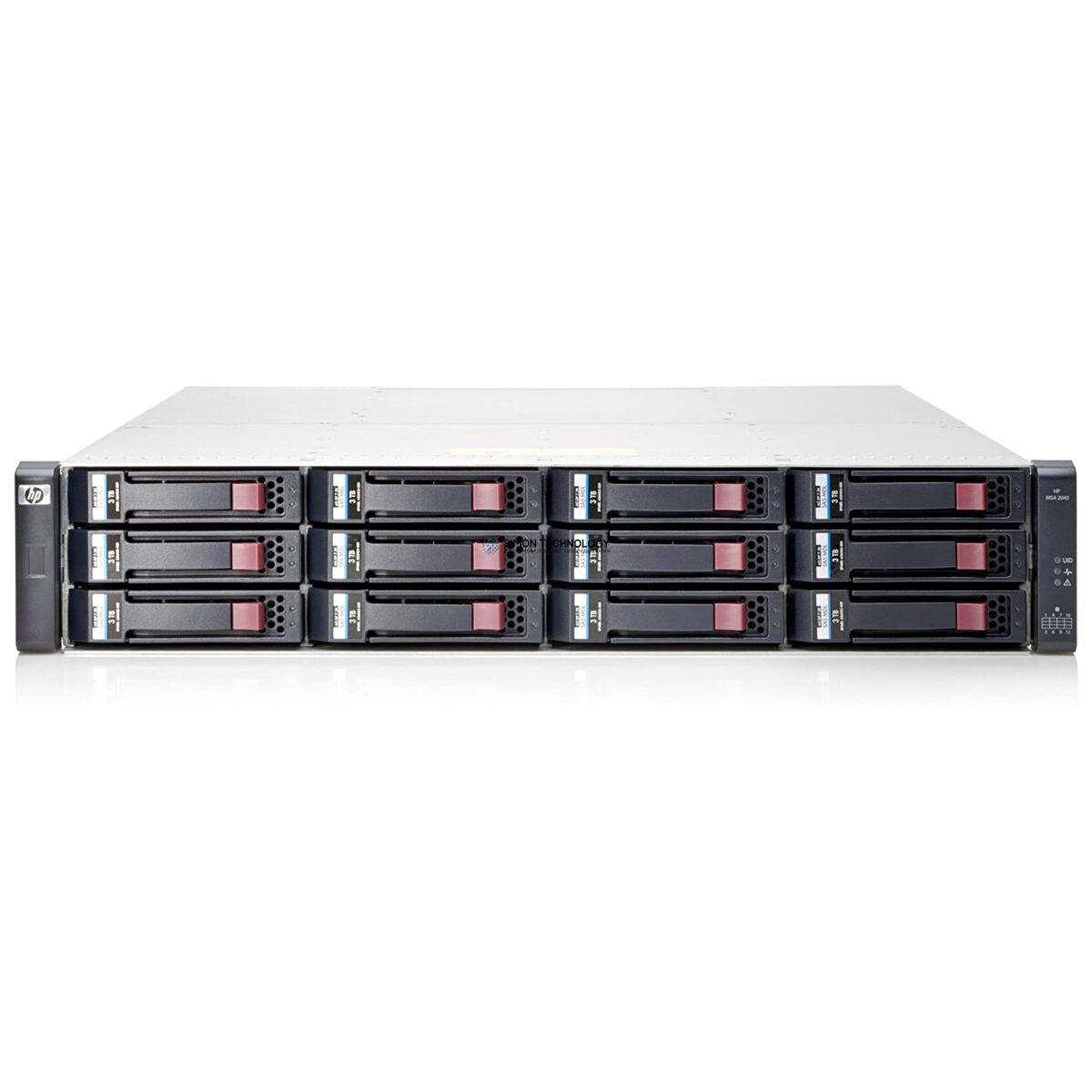 СХД HP MSA 2040 SAN DC LFF Storage (C8R14A)