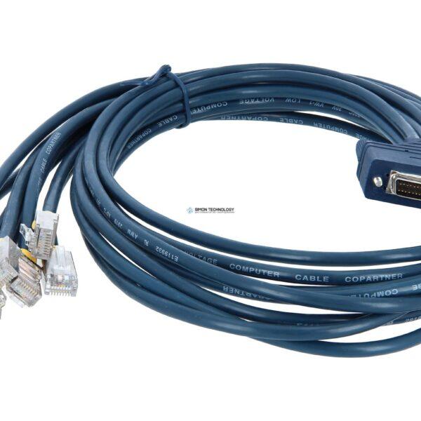 Адаптер Cisco Router-Kabel (DTE) - Kabel - Netzwerk Router-Kabel 1,22 m - 68-polig - Schwarz (CAB-OCTAL-ASYNC=)