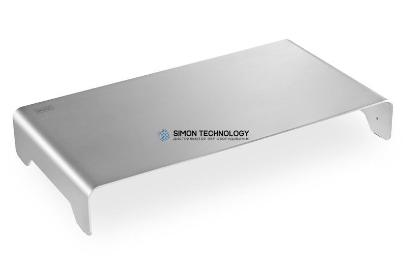 Digitus Aluminium Monitor Riser. Slim. Silver (DA-90369)
